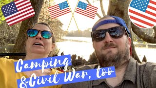 5 Steps to Travel WAY More in 2020 [plus a camping trip and Civil War reenactment]