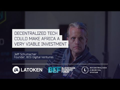 "BCG Digital Ventures, Jeff Schumacher: ""Decentralized Tech Could Make Africa A Viable Investment"""
