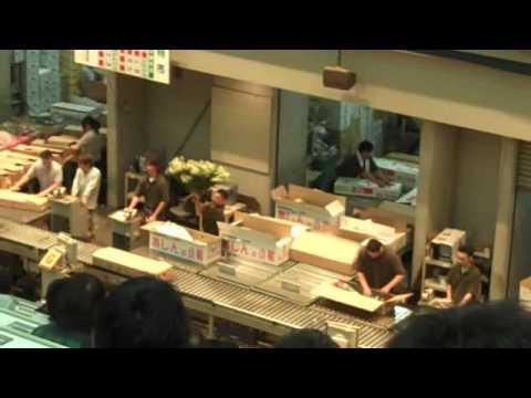 Dos Gringos in Japan Osaka Flower Auction