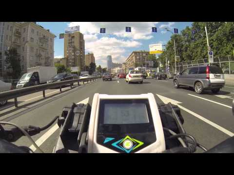 E-bike Moscow riding work commute
