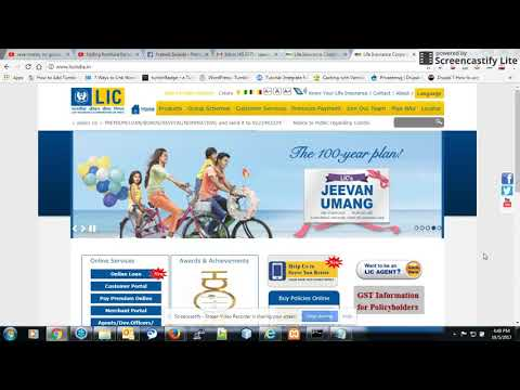 How To Pay LIC Premium Online Through Credit Card | How To Pay Lic Premium Online Through Debit Card