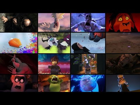 Favorite Animated Movie Villains Defeats and Deaths