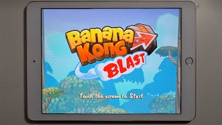 Banana Kong Blast - Android iOS Gameplay