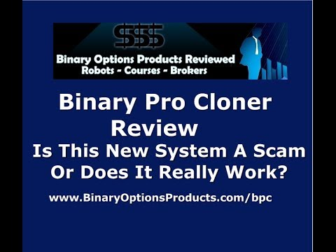 Binary option cloner
