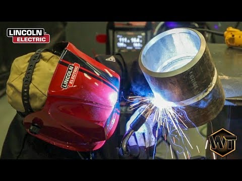 Welding At The Lincoln Electric Facility