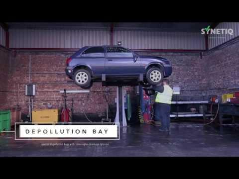 SYNETIQ Vehicle Depollution Process
