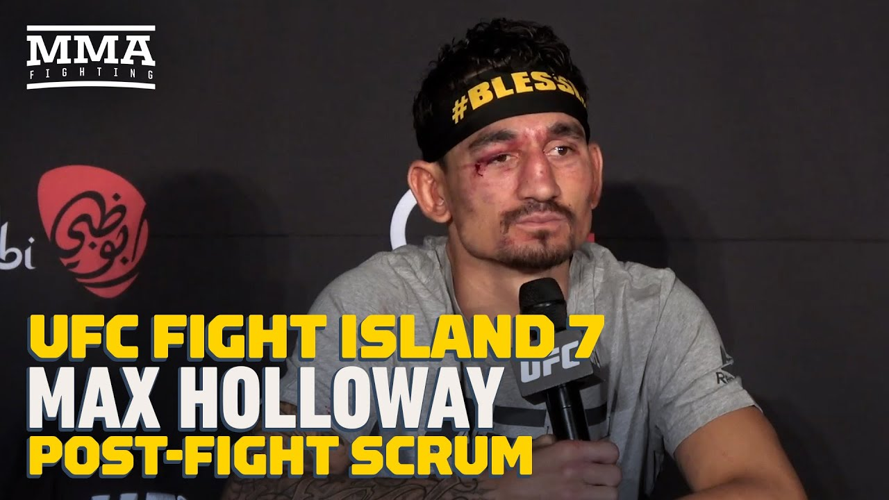 Max Holloway Felt He Was 'In the Zone' at UFC Fight Island 7 - MMA Fighting - MMAFightingonSBN