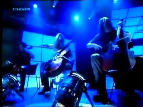 Nina Hagen & Apocalyptica - Seemann (TOTP) Lyrics on screen