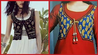 Top Class Koti and Jackets designs With Beautiful Dresses For Girls 2019