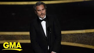 Joaquin Phoenix talks second chances and providing a