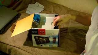 Sony XAV-601BT Head Unit Unboxing