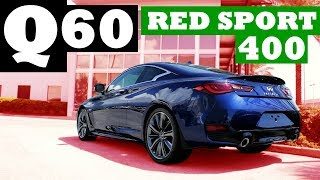 Infiniti Q60 Red Sport 400 Review   A Luxury Sports Car?