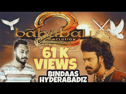 BahuBali 2 BinDaas HyderAbadi