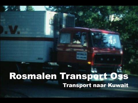 Rosmalen Transport Oss naar Kuwait