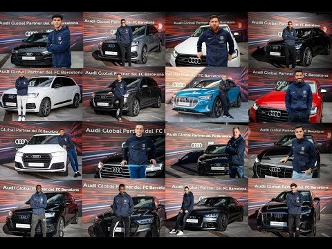 Los jugadores del Barça eligen Audi