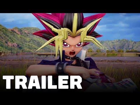 Jump Force - Yugi Gameplay Trailer (Dark Magician, Dark Magician Girl, Slifer)