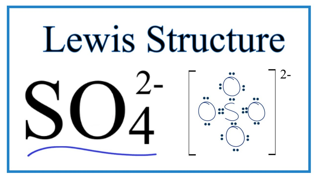 So42 Lewis Structure