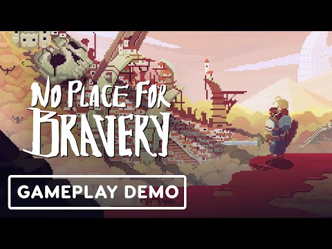 No Place for Bravery - Developer Gameplay Overview   Summer of Gaming 2020