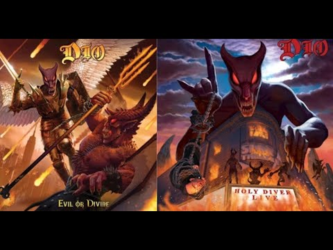 "DIO to release ""Evil Or Divine: Live In New York City"" and ""Holy Diver Live"" albums!"