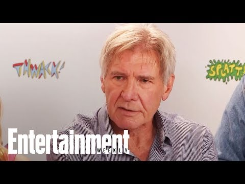 Harrison Ford On Stepping Back Into Blade Runner For Sequel | SDCC 2017 | Entertainment Weekly