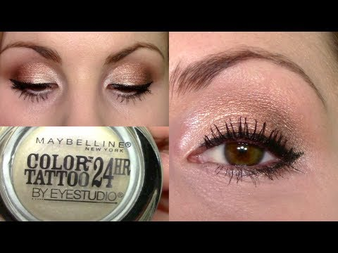 Eyeshadow Tutorial Rose Gold Amp Pearl Eyes Pink Lips