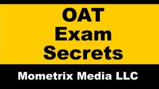 Optometry Admission Test - Free OAT Exam