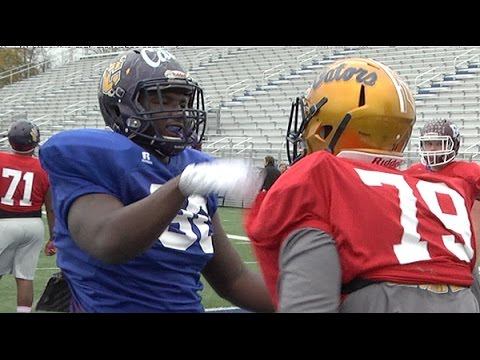 AL-MS Game: OL vs. DL (Mississippi)