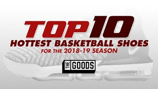 2018 Top 10 Most Popular Basketball Shoes