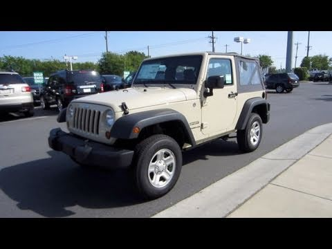 Exceptional 2011 Jeep Wrangler Sport 6 Spd Start Up, Engine, And In Depth Tour   YouTube
