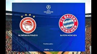 PES 2019 | Olympiakos vs Bayern Munchen | UEFA Champions League | Gameplay PC