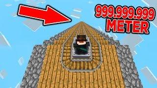 999.999.999 METER ACHTERBAHN IN MINECRAFT