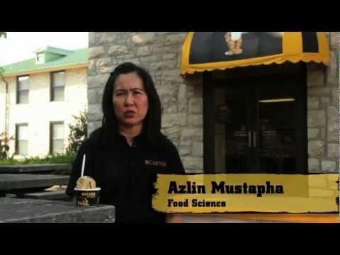 Azlin Mustapha and Ice Cream