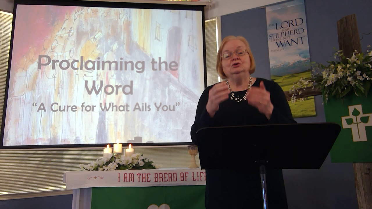 """February 7, 2021 ~ Rev. Julia Price ~ """"A Cure for What Ails You"""""""