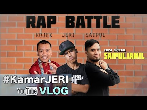 #KamarJERI Rap Battle Lawan Kojek Rap Betawi