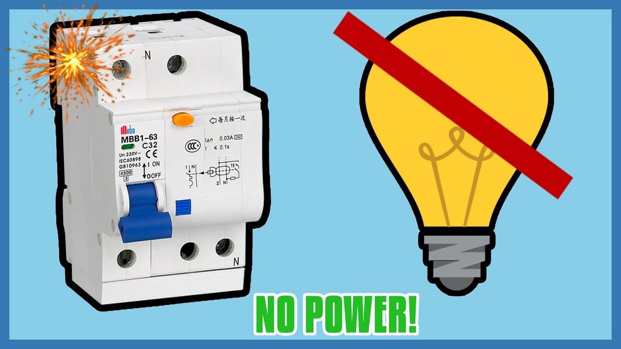 Reset Circuit Breaker Still No Power
