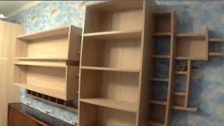 Мебель из ДСП своими руками. Стеллаж в детскую комнату делаем самостоятельно(Полный цикл изготовления стеллажа с полками для игрушек. Прошу прощения за звук - снимать кино сложнее,..., 2016-12-25T09:31:04.000Z)