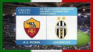 Serie A 2002-03, g12, AS Roma - Juventus