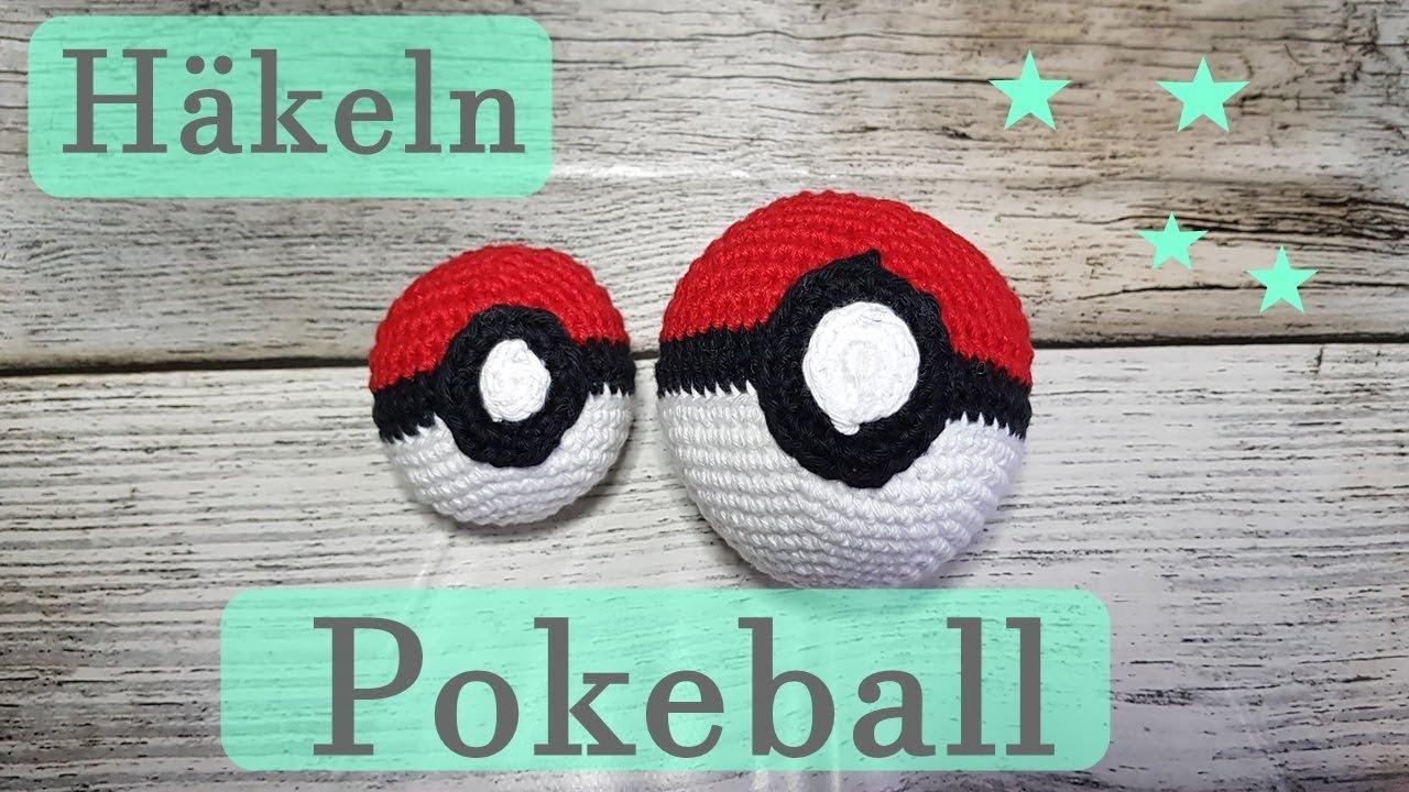 Pokeball Häkeln Pokemon Häkelanleitung Geschenke Idee