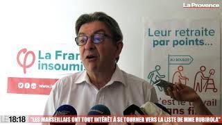 Municipales à Marseille : Jean-Luc Mélenchon annonce son soutien au Printemps marseillais