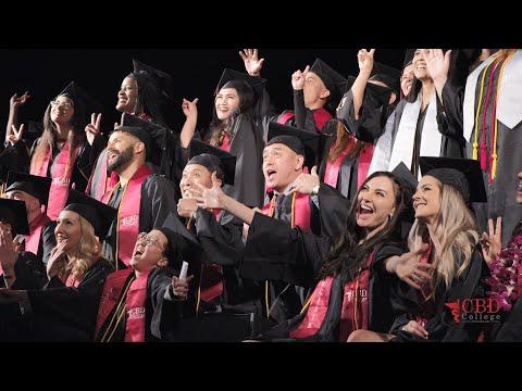 2020 Winter Graduation Ceremony   CBD College   Los Angeles