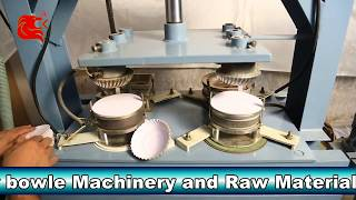 Paper Plates and Paper Cups MFG Machine By CK Engineering, Surat