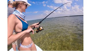 Catching HUGE Permit and bonefish while flats fishing