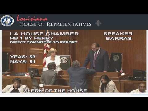 Louisiana Legislature adjourns in meltdown with no budget