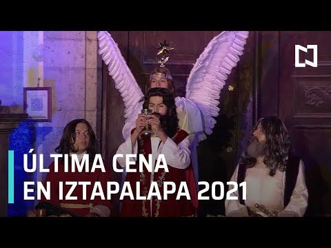 En vivo: Pasion de Cristo en Iztapalapa 2021 - Jueves Santo