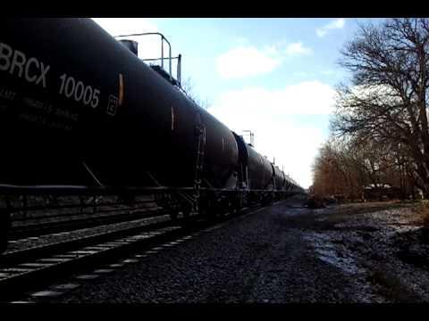 Train starting to move (Rock Island Line)