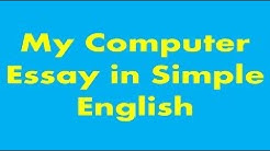 My Computer Essay in Simple English with Urdu Translation