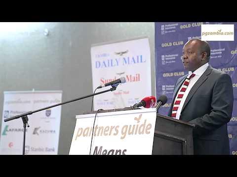 Young Zambian Business Journalist 2014