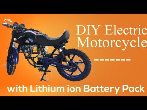 Finally, The Electric MotorCycle is On-Road with 48v 30Ah Lithium Ion Batteries || RDxVolt