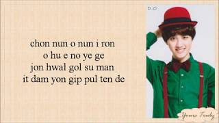 Gambar cover EXO-K – The First Snow (첫 눈) Easy Lyrics