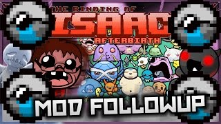 The Binding of Isaac: Afterbirth - Mod Followup: INFINITE POKEBALL ARMY! (Pokemon + Infinite Charge)
